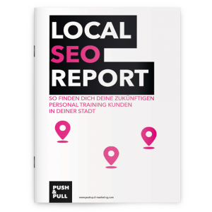 Local SEO Personal Trainer Marketing Report