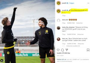 Instagram Post vom BVB